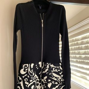 Louis Vuitton Zipper Dress with pocket